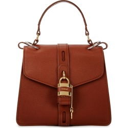 Chloé Aby Brown Leather Shoulder Bag found on Bargain Bro UK from Harvey Nichols