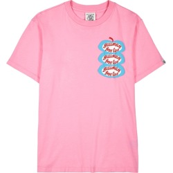 Billionaire Boys Club Pink Printed Cotton T-shirt found on MODAPINS from Harvey Nichols for USD $110.29