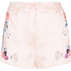 MENG Pink Floral Silk Satin Shorts found on Bargain Bro UK from Harvey Nichols