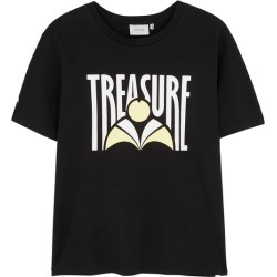 Gestuz Treasure Printed Stretch-cotton T-shirt found on Bargain Bro UK from Harvey Nichols
