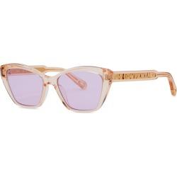 Chloé Peach Cat-eye Sunglasses found on Bargain Bro UK from Harvey Nichols
