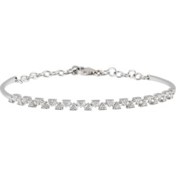 Daou Jewellery Sparks Bangle - White Gold found on Bargain Bro UK from Harvey Nichols
