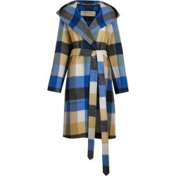 Burberry Check Oversized Dressing Gown Coat found on MODAPINS from Harvey Nichols for USD $3134.66