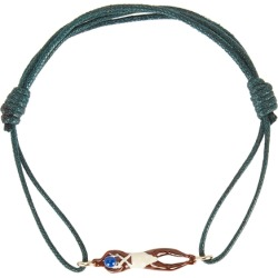 Aliita Nadadora Completo Green Cord Bracelet found on MODAPINS from Harvey Nichols for USD $214.18
