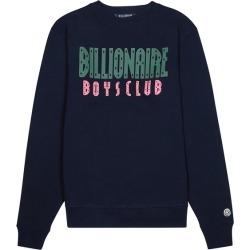 Billionaire Boys Club Navy Logo-print Cotton Sweatshirt found on MODAPINS from Harvey Nichols for USD $240.04
