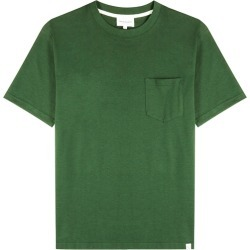 Norse Projects Johannes Dark Green Cotton T-shirt found on MODAPINS from Harvey Nichols for USD $91.66