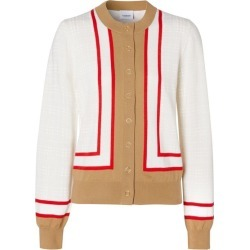 Burberry Archive Society Intarsia Wool Cardigan found on MODAPINS from Harvey Nichols for USD $771.60