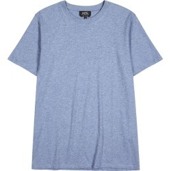 A.P.C. Light Blue Cotton T-shirt