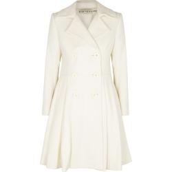 Alice + Olivia Leila Ivory Wool-blend Coat found on Bargain Bro UK from Harvey Nichols