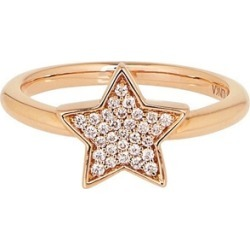 Alinka Jewellery Stasia Single Star Ring Yellow Gold found on MODAPINS from Harvey Nichols for USD $1903.24