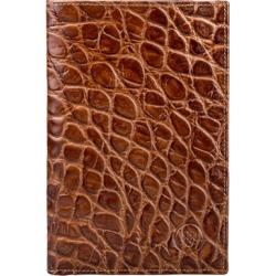 Maxwell Scott Bags Men S Handmade Brown Mock Croc Leather Breast Wallet found on Bargain Bro UK from Harvey Nichols