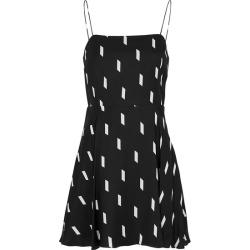 Alice + Olivia Glinda Dash-print Mini Dress found on Bargain Bro UK from Harvey Nichols