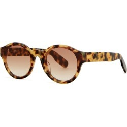 Kenzo Tortoiseshell Round-frame Sunglasses found on Bargain Bro UK from Harvey Nichols