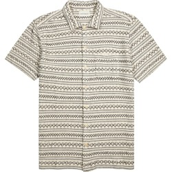 Oliver Spencer Rusper Embroidered Knitted Cotton Shirt found on MODAPINS from Harvey Nichols for USD $211.51