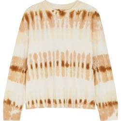 Citizens Of Humanity Tie-dyed Cotton Sweatshirt found on MODAPINS from Harvey Nichols for USD $221.32