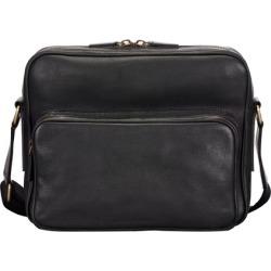 Maxwell Scott Bags Mens Handcrafted Italian Black Leather Messenger Bag found on Bargain Bro UK from Harvey Nichols