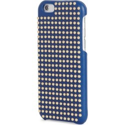 The Case Factory Blue Studded Leather IPhone 6/6S Case
