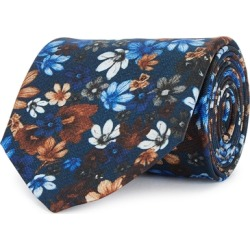 Eton Floral-print Silk Tie found on MODAPINS from Harvey Nichols for USD $96.77