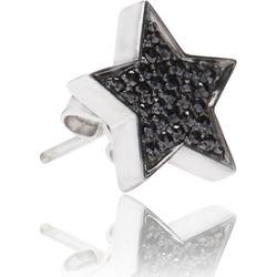 Alinka Jewellery Stasia Stud Earring Black Diamonds found on MODAPINS from Harvey Nichols for USD $885.86