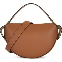 Wandler Yara Brown Leather Top Handle Bag found on Bargain Bro UK from Harvey Nichols
