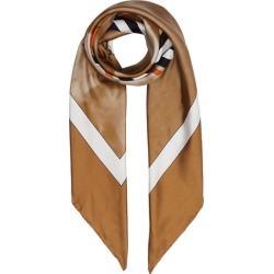 Burberry Victorian Portrait Print Silk Square Scarf found on MODAPINS from Harvey Nichols for USD $374.20