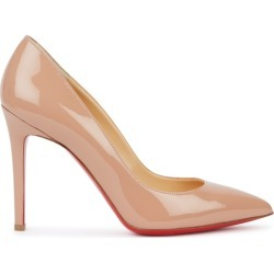 Christian Louboutin Pigalle 100 Blush Patent Leather Pumps found on Bargain Bro UK from Harvey Nichols