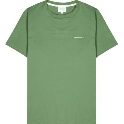 Norse Projects Neils Green Cotton T-shirt found on MODAPINS from Harvey Nichols for USD $91.66