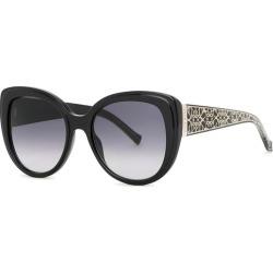Elie Saab Black Cat-eye Sunglasses found on MODAPINS from Harvey Nichols for USD $332.88