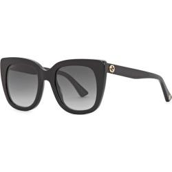 Gucci Black Square-frame Sunglasses found on Bargain Bro UK from Harvey Nichols