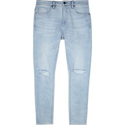 Neuw Iggy Light Blue Distressed Skinny Jeans found on MODAPINS from Harvey Nichols for USD $132.61