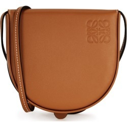 Loewe Heel Small Brown Leather Cross-body Bag found on MODAPINS from Harvey Nichols for USD $452.08