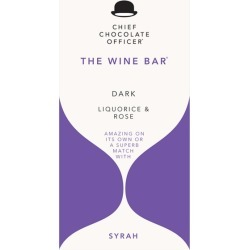 Chief Chocolate Officer The Wine Bar For Syrah - Dark Chocolate With Liquorice And Rose 100g found on Bargain Bro UK from Harvey Nichols