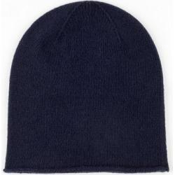 Johnstons Of Elgin Navy Roll Trim Cashmere Hat found on Bargain Bro UK from Harvey Nichols