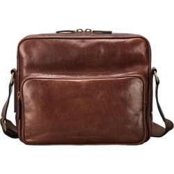 Maxwell Scott Bags Men S Italian Crafted Tan Leather Shoulder Bag found on Bargain Bro UK from Harvey Nichols