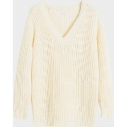 Chinti & Parker Cream Le Soir V Neck Sweater found on MODAPINS from Harvey Nichols for USD $581.24