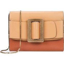 Buckle two-tone leather clutch found on MODAPINS from Harvey Nichols US for USD $575.00