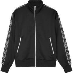 Kenzo Black Logo-embroidered Jersey Track Jacket found on Bargain Bro UK from Harvey Nichols