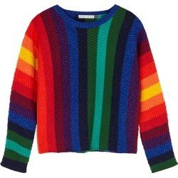 Alice + Olivia Dessie Striped Wool-blend Jumper found on Bargain Bro UK from Harvey Nichols