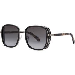 Jimmy Choo Elva Black Square-frame Sunglasses found on Bargain Bro UK from Harvey Nichols