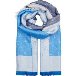 Stella McCartney Logo-jacquard Silk And Wool-blend Scarf found on MODAPINS from Harvey Nichols for USD $406.45