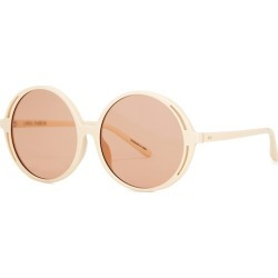 Linda Farrow Luxe Bianca Round-frame Sunglasses found on MODAPINS from Harvey Nichols for USD $452.34