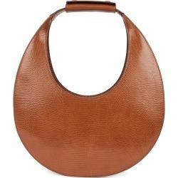 STAUD Moon Brown Leather Top Handle Bag found on Bargain Bro UK from Harvey Nichols