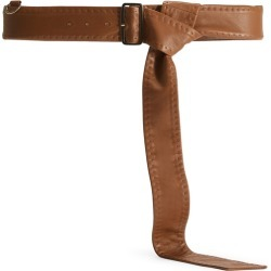 Max Mara Mens-style Nappa Leather Belt With Buckle found on Bargain Bro UK from Harvey Nichols