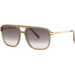 CELINE Eyewear Brown Aviator-style Sunglasses found on Bargain Bro UK from Harvey Nichols