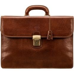 Maxwell Scott Bags Classic Tan Full Grain Leather Men S Briefcase found on Bargain Bro UK from Harvey Nichols