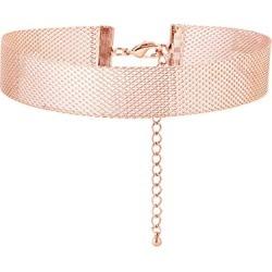 Alinka Jewellery Silhoutte Mesh Choker Rose Gold found on MODAPINS from Harvey Nichols for USD $9035.83