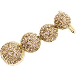Alinka Jewellery Marina Left Ear Cuff Yellow Gold found on MODAPINS from Harvey Nichols for USD $3131.17