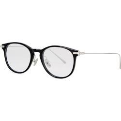 Linda Farrow Linear Black D-frame Optical Glasses found on MODAPINS from Harvey Nichols for USD $422.66