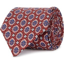 Corneliani Floral-print Silk Tie found on MODAPINS from Harvey Nichols for USD $141.65