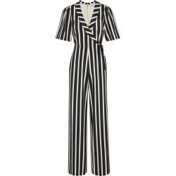 Alice + Olivia Luana Monochrome Striped Jumpsuit found on Bargain Bro UK from Harvey Nichols